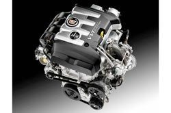 Cadillac ATS engine, © General Motors