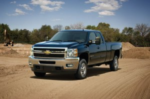 New engines for new GM trucks (2013 Chevy Silverado pictured)